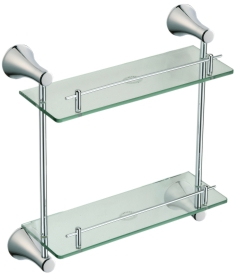 5922 Double glass shelf