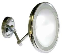 "YKL-001	 9"" Magnifying Mirror  with LED Backlight"